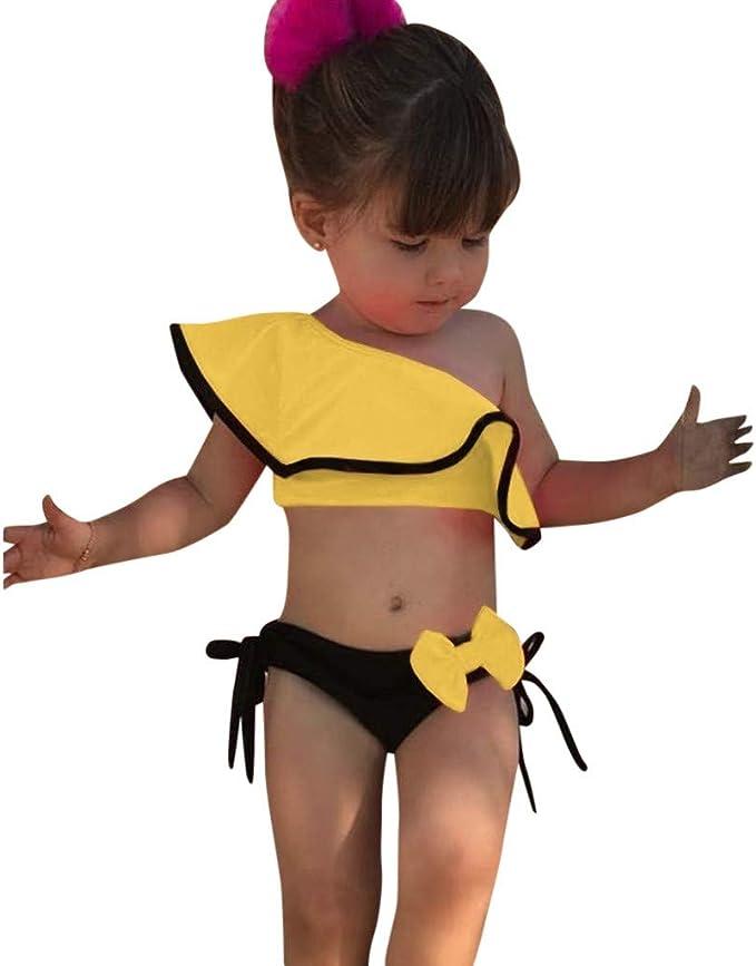 Traje de baño Bikini niña | Verano Niños Bebés Niñas Estampado ...