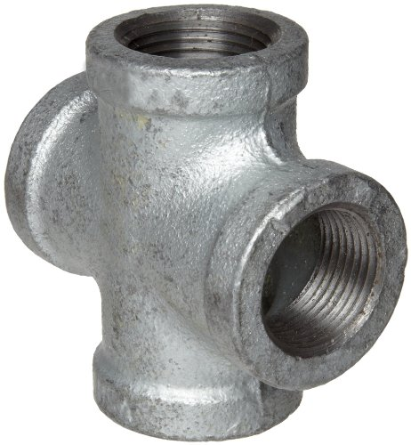 Anvil 8700126967, Malleable Iron Pipe Fitting, Cross, 1