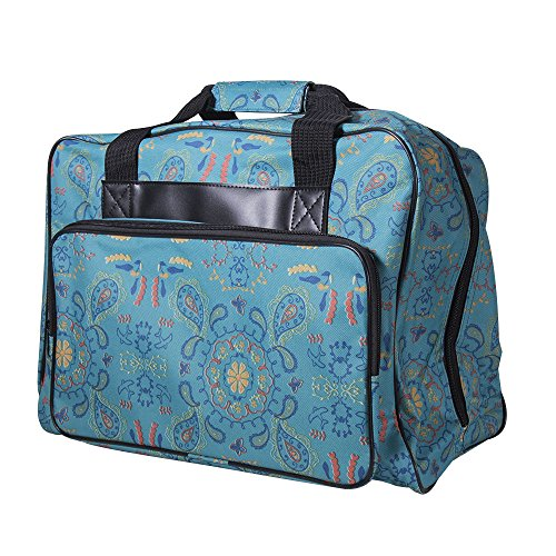 Best Price Janome Paisley Universal Sewing Machine Tote Bag, Canvas