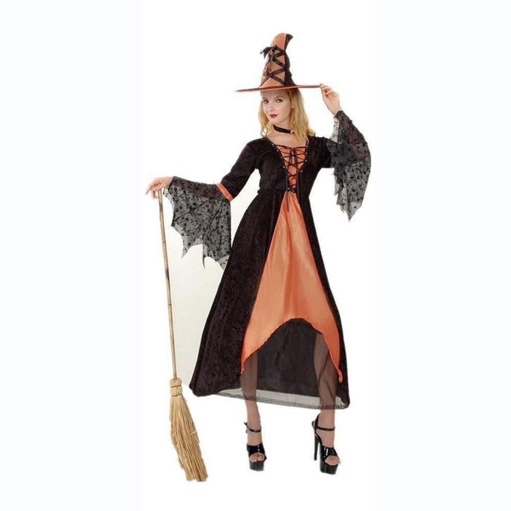 Yunfeng Hexenkostüm Damen Weibliche Rollenspiel Halloween Party Kostüme Kostüm Stage Performance Hexenkostüm