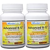Cheap Sublingual Vitamin B12 (1000 mcg), B6 (5mg), Folic Acid(400 mcg) & Biotin (25mcg) – Formulated with Methylcobalamin Vitamin B-12 (2 Bottles of 100 Tablets – 200 Total Tablets)