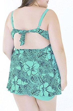1 Popoye Green Donna Tankini Lake aFWzIBw