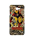 Licensed Marvel Comics Wolverine Premium Printed Back cover Case for Samsung J7 Prime