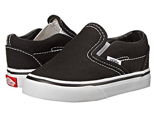 Vans Infants VANS CLASSIC SLIP ON SKATE SHOES 5 (BLACK)