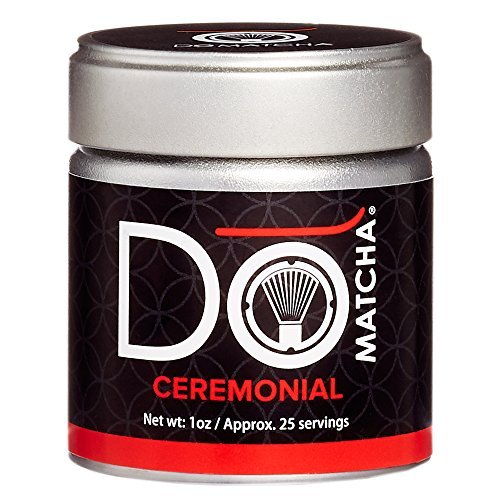DoMatcha - Ceremonial Matcha Powder, Authentic Japanese Green Tea Rich with Antioxidants and L-Theanine, 25 Servings (1 oz) by DoMatcha