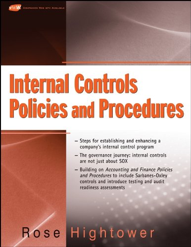 Internal Controls Policies and Procedures Pdf