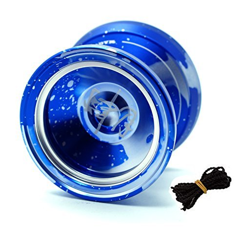 MAGICYOYO &Yostyle M002 April Unresponsive Yo-Yo(Blue Golden) by MAGICYOYO