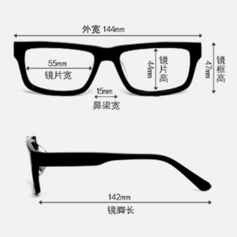 Anti-blue glasses glasses radiation glasses for men and women flat mirror frog mirror computer goggles transparent powder