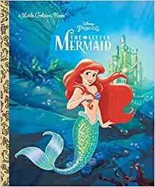 The Little Mermaid Disney Princess Golden Book Michael Teitelbaum Sue DiCicco 8601420762459 Amazon Books