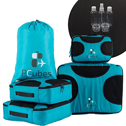 pcubes-4-piece-packing-cubes-set-lightweight-travel-luggage-packing-organizers-blue
