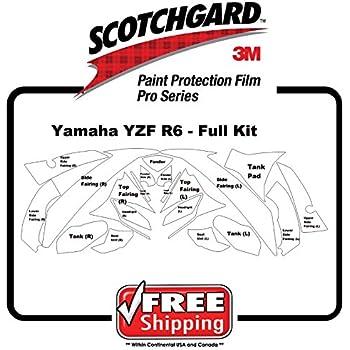 Amazon com: Kit for Yamaha YZF R6 2008 - 3M 948 PRO SERIES