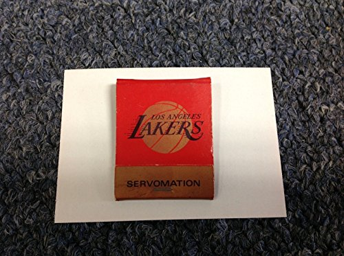 * VINTAGE * c. 1980's Los Angeles Lakers / Kings Match Book MATCHES Matchbook by Lakers