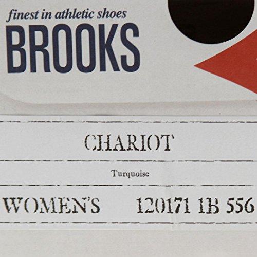 Brooks Damen Jet Schwarz/Weiß Chariot Sneakers Türkis