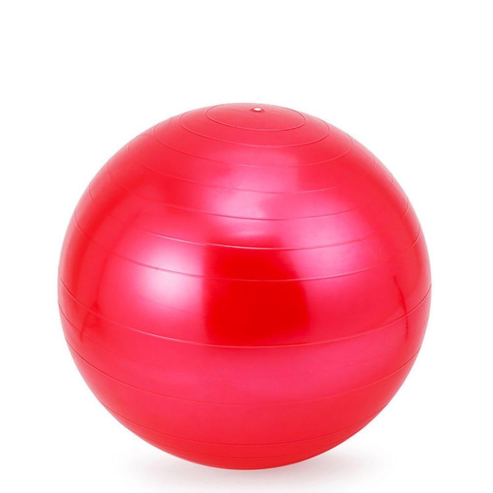 Yoga-Fitnessball / Schwangerschafts-Ball von Topelec - mit Pumpe, 95 cm, gegen Platzen geschützt