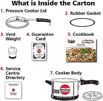 طنجرة ضغط للطهي بالبخار هيفبيز إندكشنز أسود/ فضي 5لتر