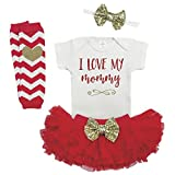 Girl First Mother's Day Outfit, Baby Mother's Day Outfit, Baby Girl Mother's Day