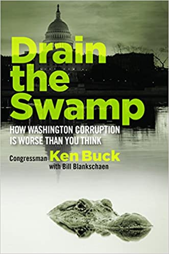 Image result for drain the swamp ken buck