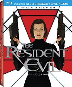 The Resident Evil Collection (Resident Evil / Resident Evil: Apocalypse / Resident Evil: Extinction / Resident Evil: Afterlife / Resident Evil: Retribution) [Blu-ray] by Sony Pictures Home Entertainment