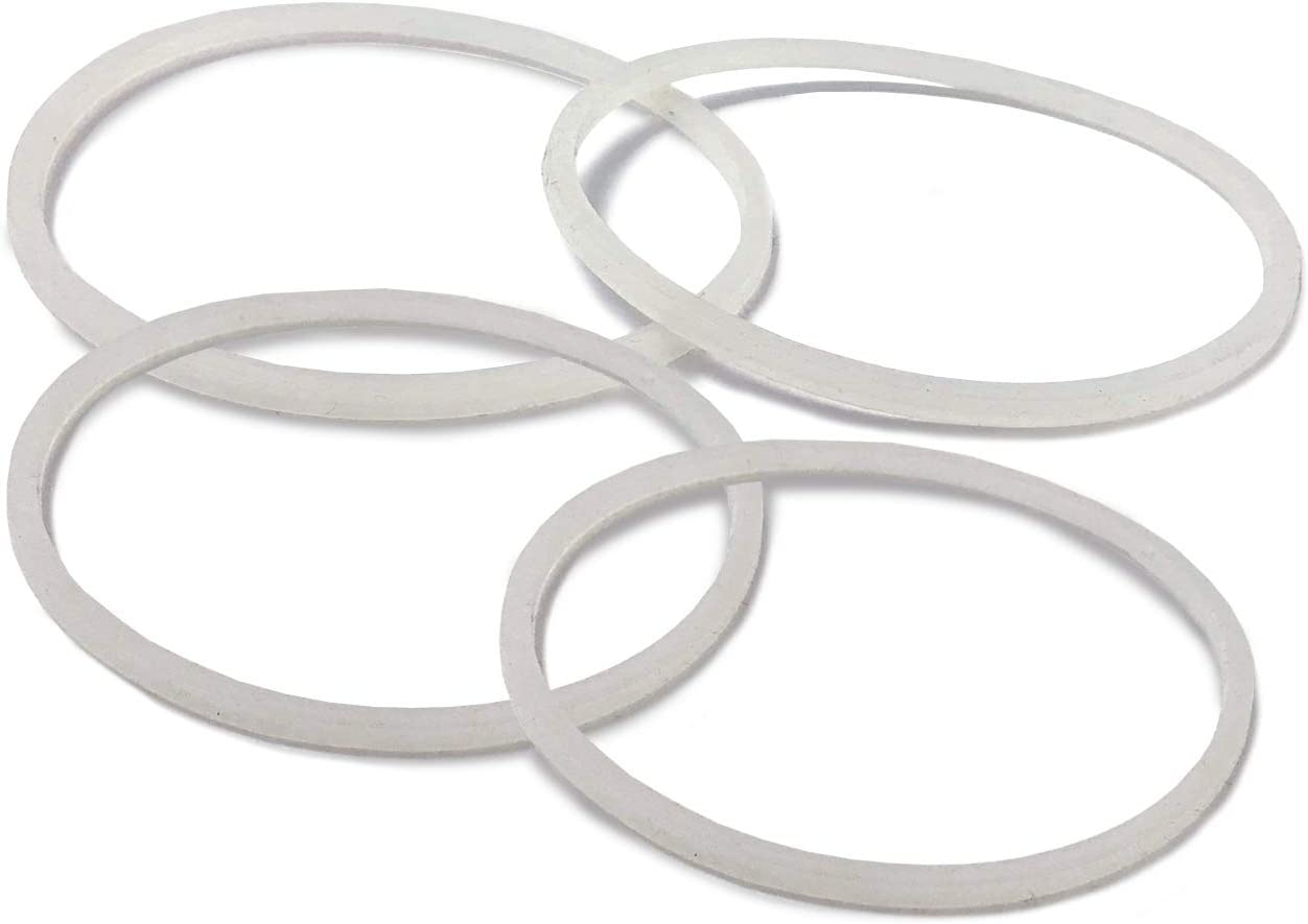 Original Magic Bullet Accessory 4 Pack Plastic Replacement Gasket Parts For Magic Bullet 250W (4)