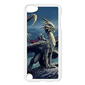 JCCFAN DIY Dragon Pattern Shell Phone For Ipod Touch 5 Case [Pattern-2]