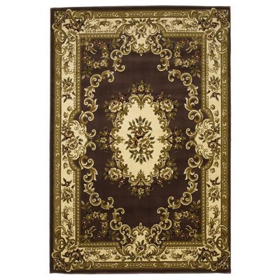 - Corinthian Plum/Ivory Aubusson Rug Rug Size: 5'3 x 7'7 by KAS Oriental Rugs