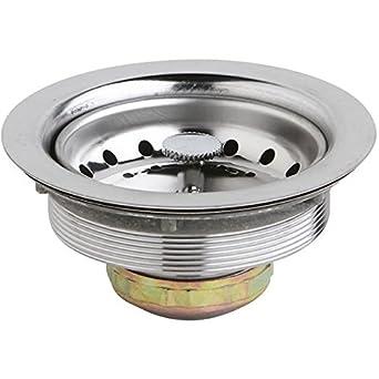 Elkay D1125 Drain, Stainless Steel