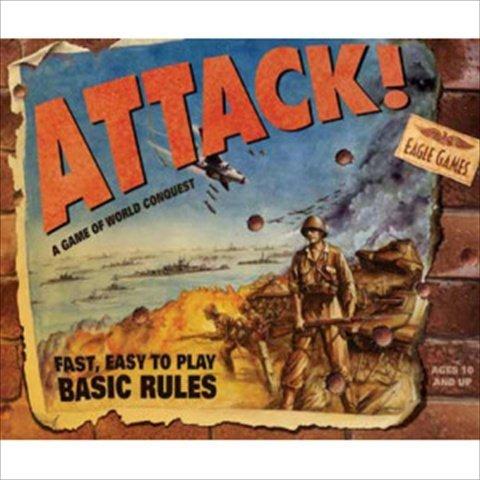 Attack Board Game (Eagle Games 101004N Attack Board Game)