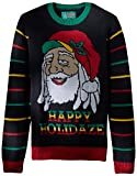 Ugly Christmas Sweater Mens Light-up-Happy Holidaze Sweater