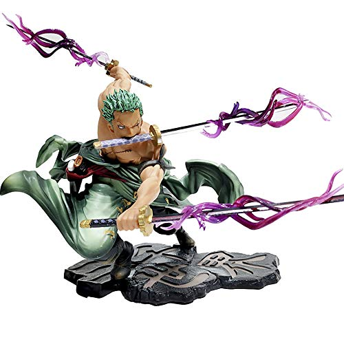 QAL One Piece Anime Action Figure Roronoa Zoro Three Thousand World Doll Model PVC Statue Cosplay Daily Life Boxed…