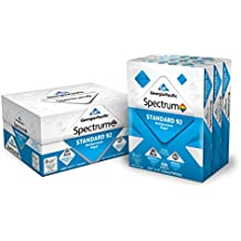 Georgia-Pacific Spectrum Standard 92 Multipurpose Paper, 8.5 x 11 Inches, 1 box of 3 packs (1500 Sheets) (998606)