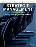 Strategic Management: Concepts and Cases, 2e WileyPLUS + Loose-leaf