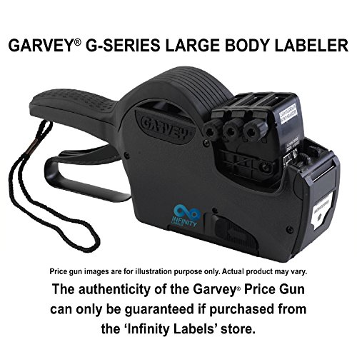 Garvey G-Series 3728-14/11/14 Price Gun Layout #33901 [THREE LINE] by Infinity Labels