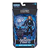 Marvel Legends Series Fantastic Four 6' Collectible Action Figure Marvel's Invisible Woman Toy, 1 Accessory, 1 Build-A-Figure Part