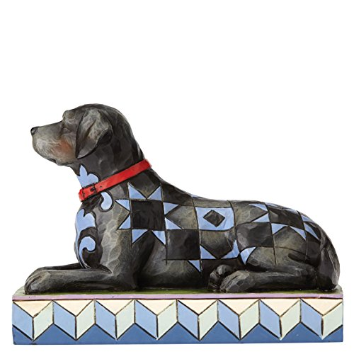 Black Labrador Retriever Figurine - Jim Shore Heartwood Creek Onyx Black Labrador Retriever Figurine 4056946 Dog Pet