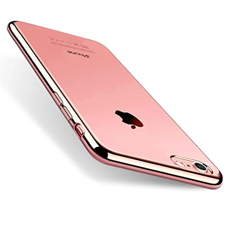 custodia iphone 8 silicone rosa