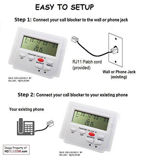 T-lock Call Blocker Version 5.0