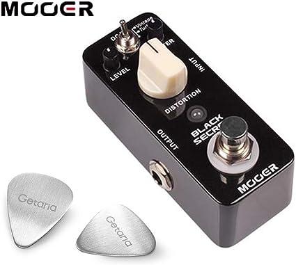 Mooer guitarra Pedal de efecto Pedal micro de distorsión secreto ...