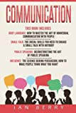 img - for Communication: 4 Manuscripts - Body Language, Small Talk, Public Speaking, Influ book / textbook / text book