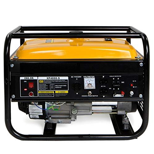 AVGDeals Portable Gas Generator Engine 7HP 120v/240v EPA Jobsite Camp | Great for campgrounds, Construction Sites, Backyard, Party, Tailgates and Power outages Uncategorized