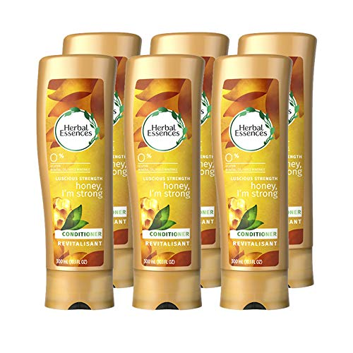 Herbal Essences Honey I'm Strong Strengthening Conditioner, 10.1 Fluid Ounce (Pack of 6) (Packaging May Vary)