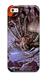 AnnaSanders Case Cover Protector Specially Made For Iphone 5c Lotr Fantasy Abstract Fantasy