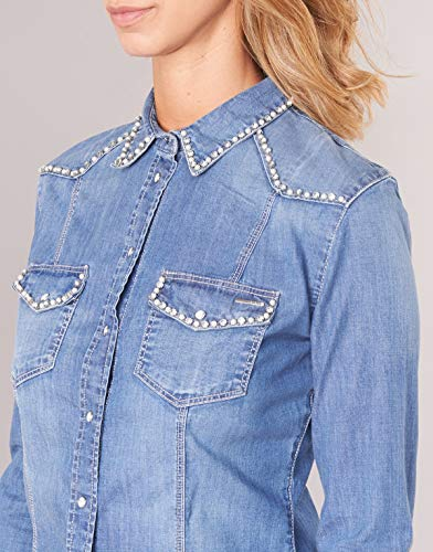 Denim Jewerely Guess Blue Blue Shirt Jewerely Denim Guess Shirt Guess fqnpY14px