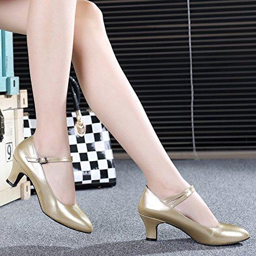 L'or US8.5 EU39 UK6.5 CN40 Masocking@ Femme Chaussures de Danse Sandales Masocking@ Chaussures de danse pour femmes Sandales Tip