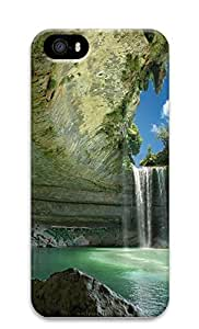 iPhone 5 5S Case Waterfall Natures 3D Custom iPhone 5 5S Case Cover
