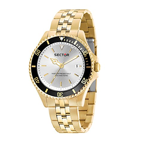 SECTOR Men's '230' Quartz Stainless Steel Casual Watch, Color Gold-Toned (Model: R3253161014)
