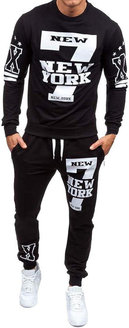 Just Do It Pants /& T-Shirt Set Men/'s Activewear Tracksuit Fitness Tops Joggers
