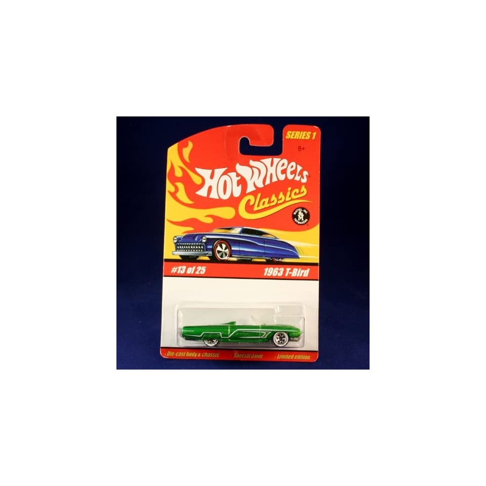 Hot Wheels Classics Series 1   1963 T BIRD #13 of 25