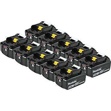 Makita BL1830B-10 18V LXT Lithium-Ion 3.0 Ah Battery (10 Pack)