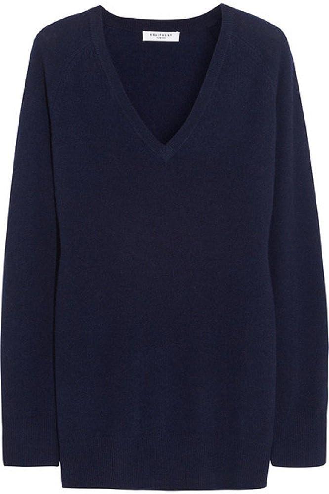 Equipment Women's Asher Navy Sweater