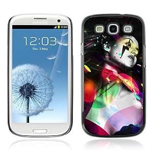 YOYOSHOP [Cool Colorful Woman & Tattoo] Samsung Galaxy S3 Case by icecream design